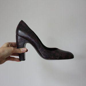 MIU MIU Vintage Leather Heels